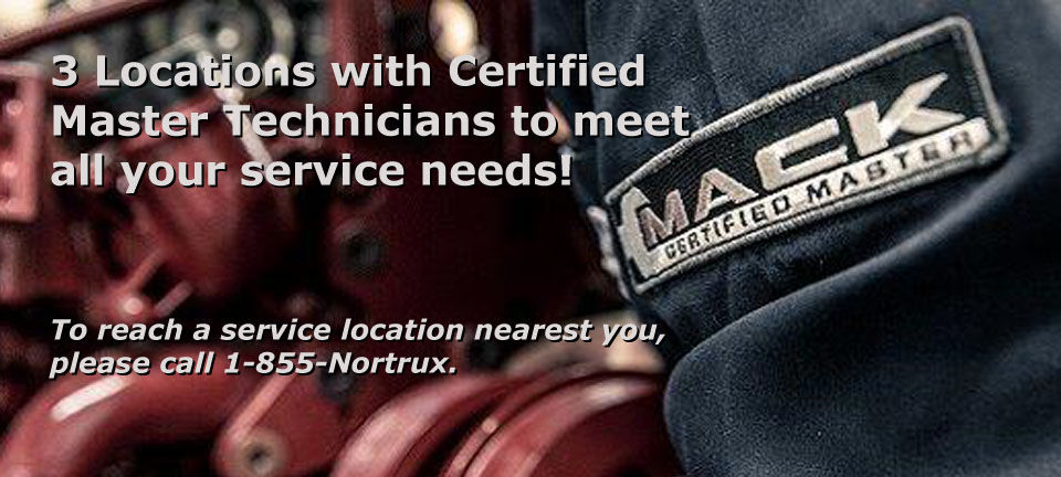 Certified MACK Master Technicians